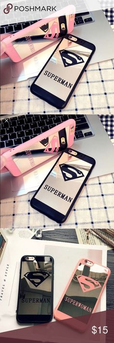 Superhero Mirror iPhone cases Brand new still in packaging! $15 each Accessories Phone Cases