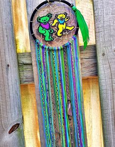 Your place to buy and sell all things handmade Types Of Dreams, Grateful Dead Dancing Bears, Diy General, Decor Ideas, Craft Ideas, Forever Grateful, Dreamcatchers, Crochet Fashion, String Art