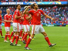 Gareth Bale proves why winners need just one moment to change history Wales Euro 2016, Wales Football, Football Tournament, Uefa Euro 2016, Ashley Williams, Gareth Bale, One Moment, History, Cymru