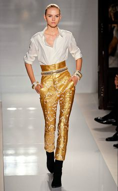 Olivier Rousteing had some pretty big shoes to fill this season, as the new 25-year-old designer stepped in with the sudden departure of Christophe Decarnin, as creative director of the 66-year-old label Balmain. Having worked under Christophe Decarnin for two years, all eyes were on him to see what the young protégé had to offer the famously edgy line.