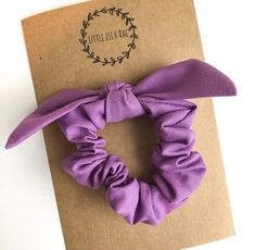 Isn't this bright purple so much fun? Our hair scrunchies are perfect for moms and little girls! Isn't this bright purple so much fun? Our hair scrunchies are perfect for moms and little girls! Spring Fashion, Girl Fashion, Beach Wrap, Fabric Bows, Bright Purple, Summer Hairstyles, Mom Style, Violet, Hair Ties