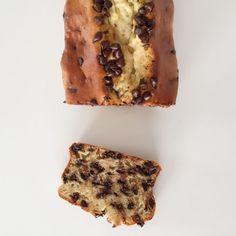 Cake banane, yaourt et chocolat - Les cuillères en bois