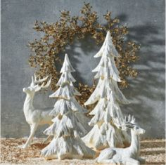 Christmas decoration detail are available on our website. look at this and you wont be sorry you did. Silver Christmas Decorations, Christmas Mantels, Christmas Deer, Christmas Centerpieces, All Things Christmas, Winter Christmas, Christmas Crafts, Christmas Ornaments, Christmas On A Budget