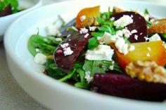 Salat med rødbete og valnøtter_2