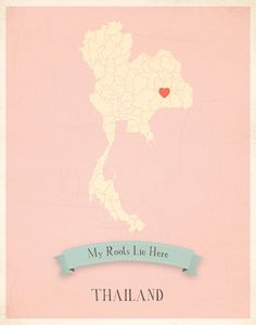 Thailand Roots Map!