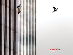 Mad Men season 5 poster and the Falling Man juxtaposed. World Trade Center Attack, World Trade Center Nyc, Trade Centre, Falling Man Photo, The Falling Man, Mad Men Poster, American Exceptionalism, Secret Space, Haunting Photos