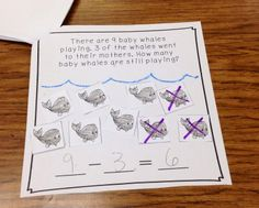 Fun in the Ocean! TONS of math, literacy, & writing activities!