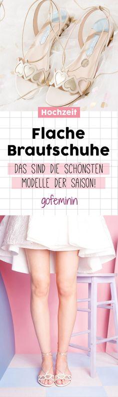 Flache Brautschuhe: Wunderschön, himmlisch bequem und voll im Trend!