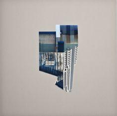 裁切影像,錯置重組後的「家」Krista Svalbonas » ㄇㄞˋ點子靈感創意誌 Collage Art, Collages, Buildings, Paper, Drawings, Image, Home Decor, Montages, Sketches