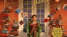 """los libros voladores - YouTube Estupendo cortometraje para que los más pequeños entiendan el significado de """"leer... e imaginar""""."""