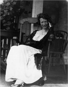 """Edna St. Vincent Millay ~ """"Before she has her floor swept, or her dishes done, any day you'll find her, A-sunning in the sun!"""""""