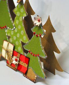 Resultado de imagen para christmas tree silhouette