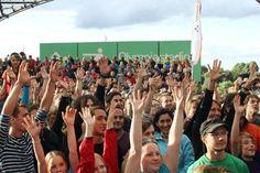 Jubiläumsfeier im Olympiapark