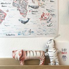 """Gefällt 90 Mal, 4 Kommentare - Oh Kiddo (@oh.kiddo) auf Instagram: """"Zeig' mir die Welt! #weltreise #kidsinterior #kidsroom #kinderzimmer"""""""