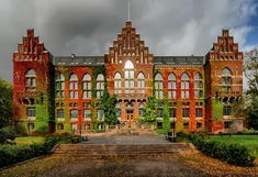 University of Lund in Sweden   It's gorgeous!