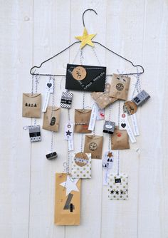 Babyology brings you 10 super sweet and easy to make Advent calendars to tackle with the kids just in time for the December 1 Christmas countdown. Christmas Countdown, Christmas Calendar, Noel Christmas, Christmas Fashion, Advent Calenders, Diy Advent Calendar, Crafts For Teens To Make, Diy And Crafts, Kids Diy