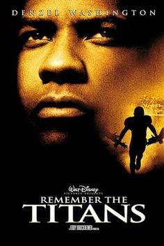 """Remember the Titans"" (2009)  Denzel Washington stars as Coach Herman Boone"