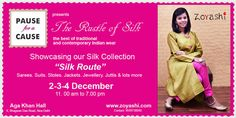 We're hitting the streets of Delhi from 2nd to 4th of December with our latest Winter & Silk Collection at Aga Khan Hall, New Delhi 11A.M. Onwards!! #Zoyashi #DelhiExhibition #RockThisLookWithZoyashi #December Exhibition #LoveForEthnics #IndianWear #SIlk #Kurtas #Indian #Exhibition
