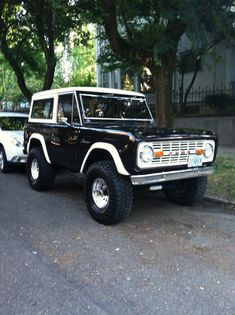 Old school Ford Bronco. Super clean