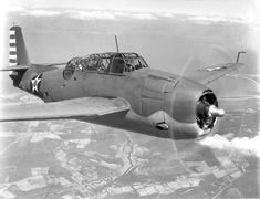 "Grumman TBF-1C ""Avenger"" (with its two machine guns in the nose) early 1942 *BFD*"