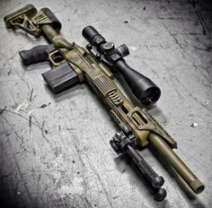Sniper rifle; Nightforce scope