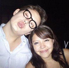 Aaron Meneses y Tania Enriquez.