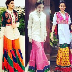 Gharara takeover  We are seeing this old time classic trending in a casual form.  Inspiration from old time classics.  We are loving this by #rangja  #gharara #celebs #asianbridalmuse #pakistani #oldtimeclassic #chic #newfashion #desiattire #mixmatch #inspo #traditional #casual #everydaywear