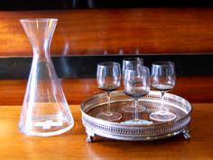 Modern Meets Vintage Barware
