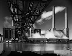 Kraftwerk, Wolfsburg 1971, Foto Heinrich Heidersberger/artur