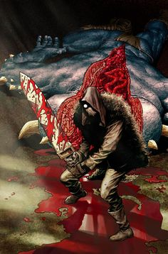 Rumble variant cover by Lee Bermejo * Comic Book Covers, Comic Books, Lee Bermejo, Frank Frazetta, Horror Comics, Image Comics, Science Art, Dark Horse, Comic Art
