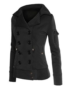 RubyK Womens Classic Double Breasted Pea Coat Jacket with Hood RubyK http://smile.amazon.com/dp/B00N5E0OO0/ref=cm_sw_r_pi_dp_QyRoub1D6BEVB