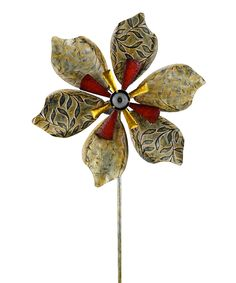 Look at this Solar Flower Spinner on #zulily today!