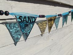 Bunting - Stained Glass Sea, Sand and Shells  £30.00