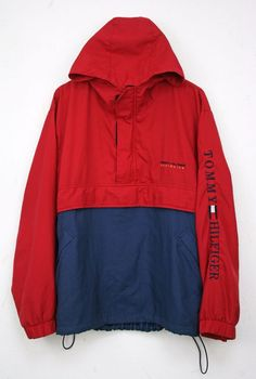 Tommy Hilfiger Vintage Mens Anorak Jacket size M Big Logo 90s Athletics Sport  in Clothes, Shoes & Accessories, Men's Clothing, Coats & Jackets   eBay!