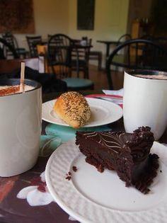 Flourless chocolate cake of Amy's Bakery Brattleboro