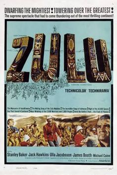 Zulu (1964) –  one of the greatest battle that ever been filmed, with great casts