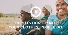 robots dont make your clothes, people do. Just because a garment is labeled as green, sustainable, or eco-friendly does not make it so. We partner with OCS (Organic Content Standard), GOTS (Global Organic Textile Standard), and Fair Trade USA to certify the organic content in our apparel and ensure that all PACT clothing is made ethically and sustainably. Non GMO, No child labor, No toxic pesticides.