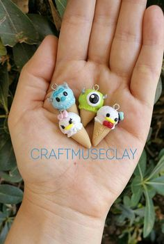 Check out this item in my Etsy shop https://www.etsy.com/listing/462035183/tsum-tsum-miniature-ice-cream-charms
