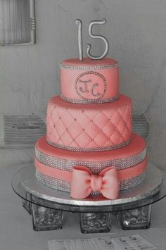 A Quinceanera Cake | Quinceanera Ideas |  http://www.quinceanera.com/quinceanera-cakes/?utm_source=pinterest&utm_medium=social&utm_campaign=category-quinceanera-cakes