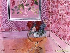 Thirty Years Artwork by Raoul Dufy Hand-painted and Art Prints on canvas for sale,you can custom the size and frame