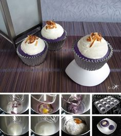 @Catherine Greer I really think that these ube cupcakes should be our next baking project