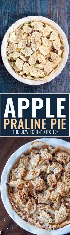 desserts milk apples apples pecans apple praline praline pie fall ...