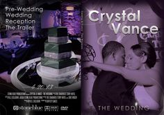 Movie inspired wedding DVD case. A beautiful way to show off your wedding to friends and family!