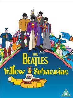 ¿Quién diseñó a los personajes de los Beatles en 'Yellow Submarine'?