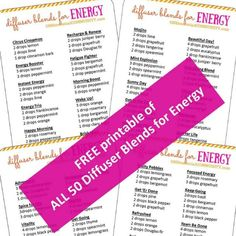Energizing Essential Oil Diffuser Blends to Fight Fatigue - ONE essential COMMUNITY