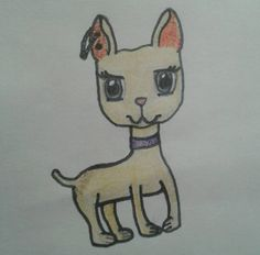 Amber the dog by Saxie3toes.deviantart.com on @DeviantArt