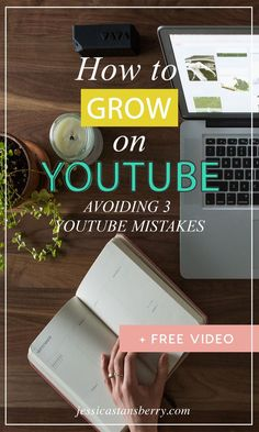How to Grow on YouTube | 3 Mistakes to Avoid to make sure your channel grows. YouTube tips and tricks to help you grow a business online! #youtube #youtubechannel #youtubetips #contentmarketing