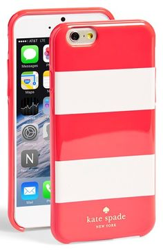 Free shipping and returns on kate spade new york 'fairmont square' iPhone 6 case at Nordstrom.com. Graphic stripes add playful sophistication to a hard-shell iPhone case designed to keep your tech scuff- and scratch-free.