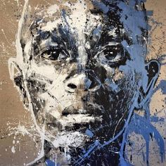 "Saatchi Art Artist Mario Henrique; Portrait of boy Painting, ""Vultus"" #art"