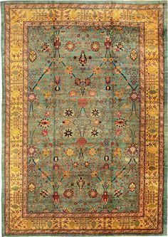Antique Agra Oriental Rug from Nazmiyal